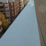 Impermeabilizado de terrazas y voladizos.