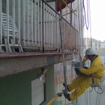 Reparacion forjado hormigon frentes balcones.